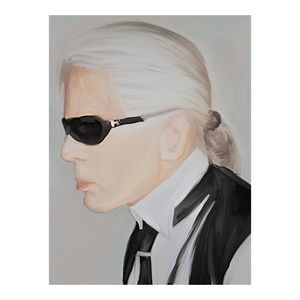 Other - KARL LAGERFELD FRAMED PAINTING